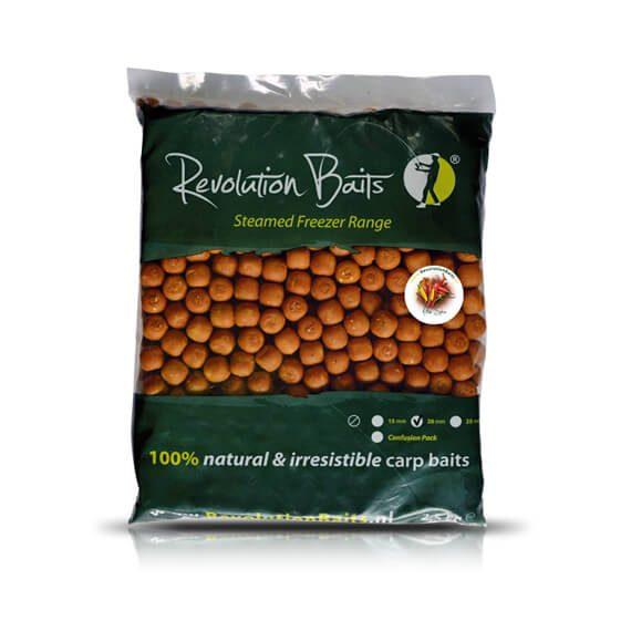 Active Spice - Steamed Freezer Baits - 2.5kg - Revolution Baits