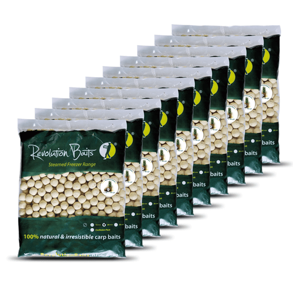 Coconut and Pineapple - Steamed Freezer - Baits 25kg - Revolution Baits